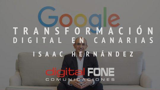 Renato Guzmán Guerini, Renato Guzmán G, Renato Guzmán, Isaac Hernández, Google Cloud, Google Cloud España, Google Canarias, Digital Fone, Digital Fone Comunicaciones